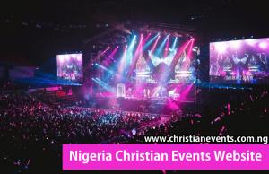 Christian events website in Nigeria