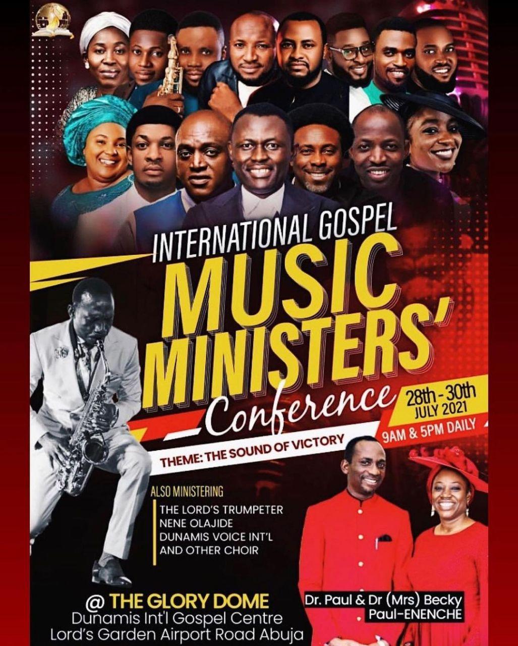 DUNAMIS INTERNATIONAL GOSPEL MUSIC MINISTER'S CONFERENCE