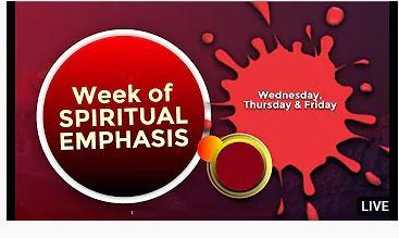 WINNERS CHAPEL WEEK OF SPIRITUAL EMPHASIS AUGUST 2021