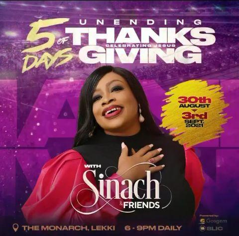 Sinach & Friends