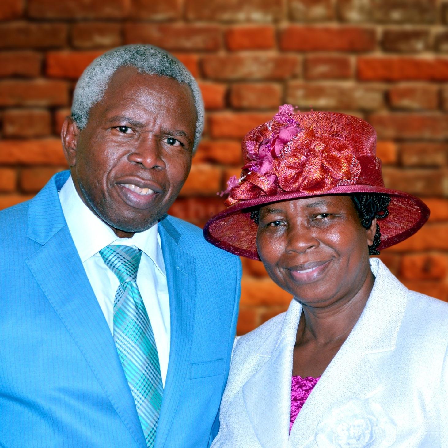 Reverend and Mrs Moses Rahaman Popoola