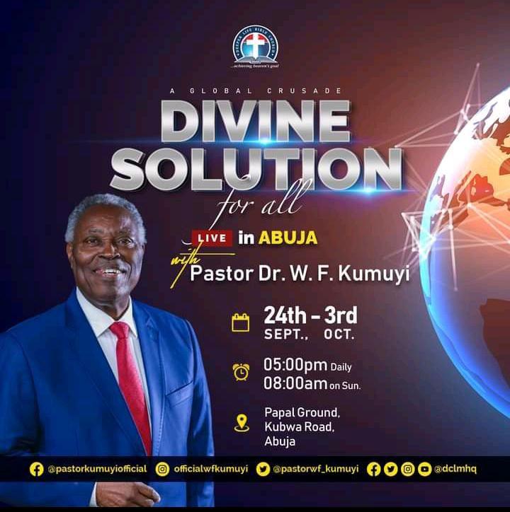 DCLM DIVINE SOLUTION CRUSADE