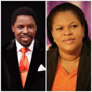 Prophet TB Joshua and Evelyn